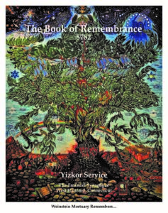 Book of Remembrance 2021/5782
